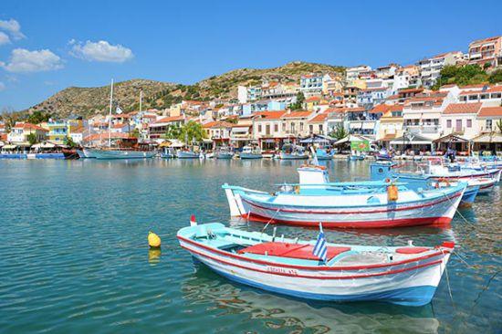Pythagorion, Samos Griekenland